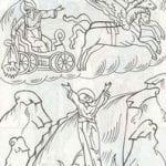 распечатать бесплатно раскраски на православную тему 1