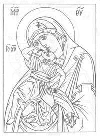 распечатать бесплатно раскраски по основам православной культуры 1