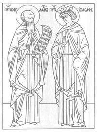 распечатать бесплатно раскраски по православной культуре