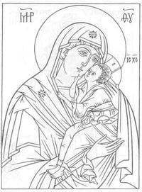 распечатать бесплатно раскраски православные