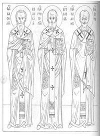 распечатать библия православие раскраски 2