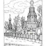 распечатать библия православие раскраски