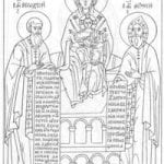 распечатать на православную тему раскраски 2