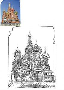 распечатать на православную тему раскраски
