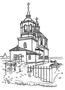 распечатать по основам православной культуры раскраски