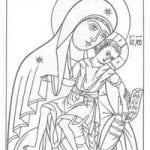 распечатать по православной культуре раскраски 2