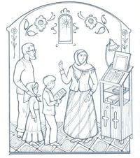 распечатать по православной культуре раскраски 1