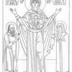 распечатать православие чудеса божии раскраски церковь и храм