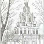 распечатать православные раскраски 1