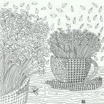 распечатать раскраска чашка для чая картинка