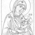 распечатать раскраски библия православие 1