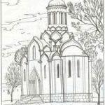 распечатать раскраски православные 1