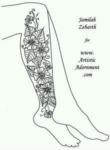 рисунки на бумаге татуировки