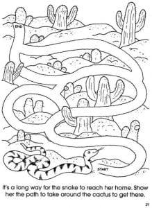 рисунок лабиринт детский