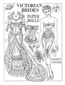 шаблоны бумажных кукол