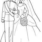 скачать бесплатно раскраска свадьба