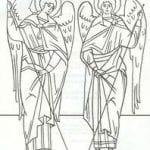 скачать бесплатно раскраски православные распечатать 1