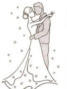 скачать бесплатно свадьба раскраска