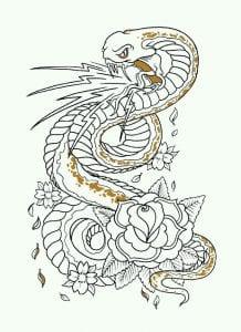 скачать рисунки татуировок на листе