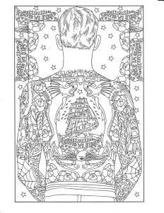 skachat-risunki-tatuirovok-na-liste-232x300 Татуировки