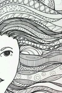 татуировки раскраска антистресс для творчества и вдохновения