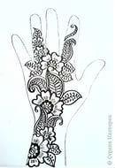 татуировки раскраска антистресс