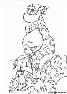 Артур и минипуты раскраска (1)