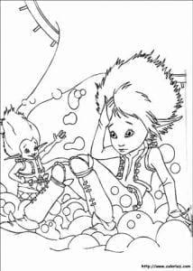 Артур и минипуты раскраска (10)