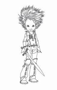 Артур и минипуты раскраска (12)