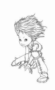 Артур и минипуты раскраска (14)
