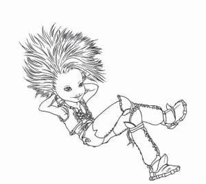 Артур и минипуты раскраска (15)