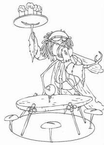 Артур и минипуты раскраска (2)