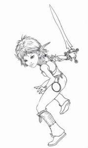 Артур и минипуты раскраска (20)