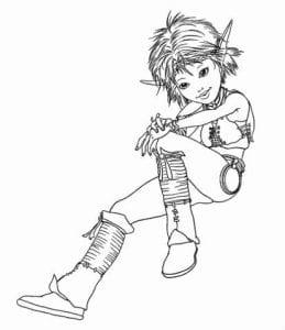 Артур и минипуты раскраска (23)