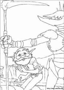 Артур и минипуты раскраска (5)