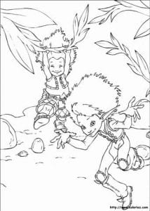 Артур и минипуты раскраска (7)