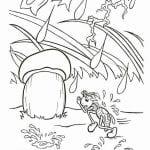грибок-теремок раскраска (2)