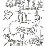 грибок-теремок раскраска (9)