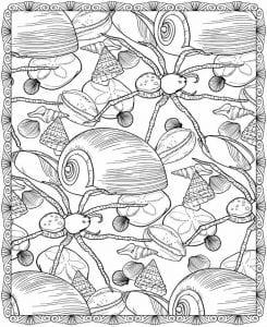 подводный мир раскраски (108)