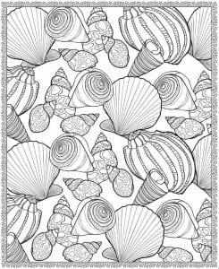 подводный мир раскраски (110)