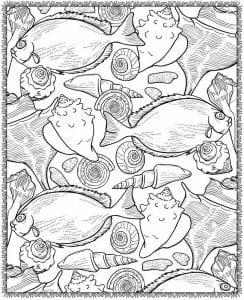 подводный мир раскраски (113)