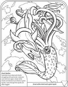 подводный мир раскраски (13)