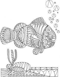 подводный мир раскраски (17)