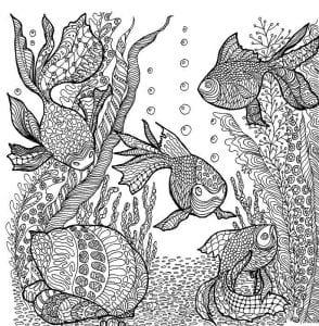 подводный мир раскраски (19)