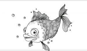 подводный мир раскраски (22)