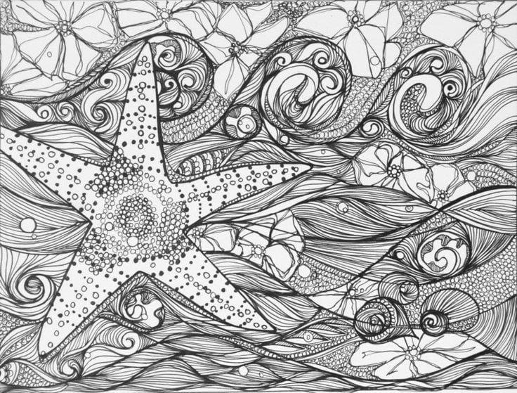 -мир-раскраски-23 подводный мир раскраски (23)