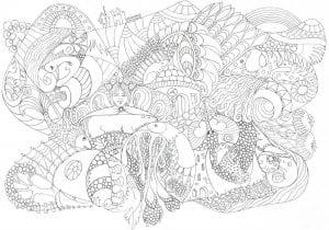 подводный мир раскраски (26)