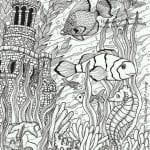 подводный мир раскраски (28)