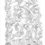 подводный мир раскраски (36)