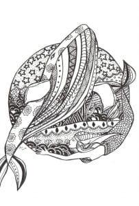 подводный мир раскраски (38)